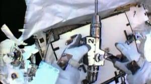 ISS Astronauts Fix Ammonia Leak during Spacewalk
