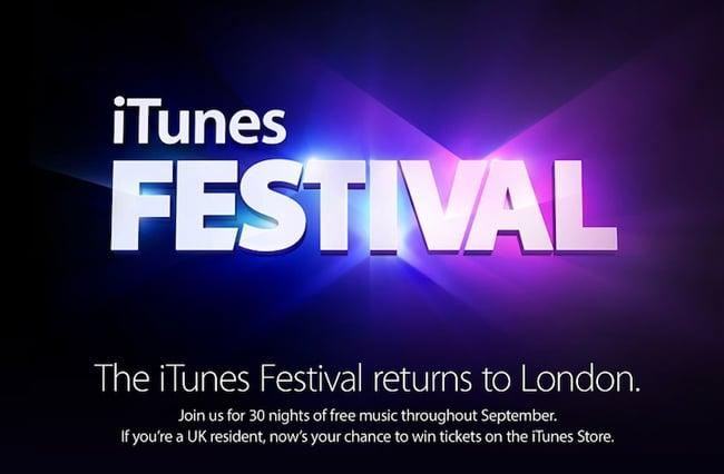 Apple iTunes Festival 2013