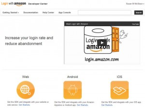 Amazon Announces Login with Amazon