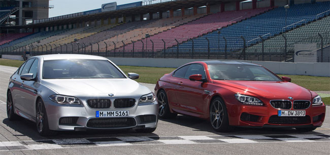 BMW Announces Competition Package for M5 and M6 in July