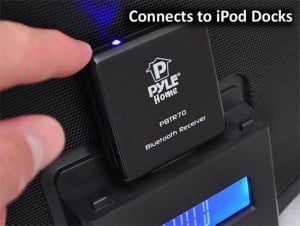 Pyle PBTR70 Turns 30-Pin iPhone Speaker Docks into Wireless Music Devices