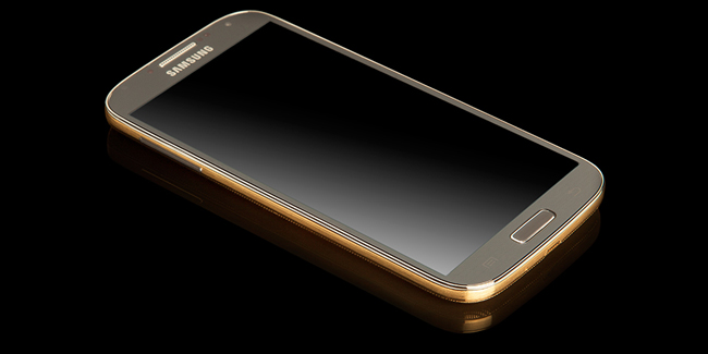 24CT Gold Samsung Galaxy S4