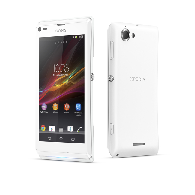 The Sony Xperia L was launched dorsum inward March Sony Xperia L Now Available In Europe
