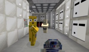 Star Wars: Episode IV Opening Sequence Recreated In Minecraft
