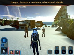 Star Wars: Knights of the Old Republic now available on iPad