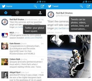 Twitter For Android Updated
