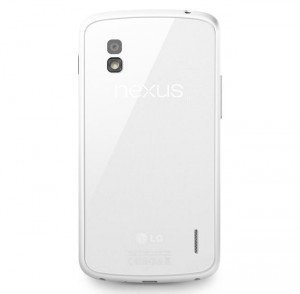 White Nexus 4 Available in UK for £309.99