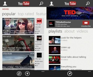 YouTube App For Windows Phone Gets A Major Update