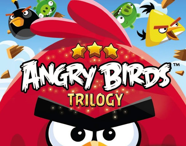 Angry Birds Trilogy For Wii