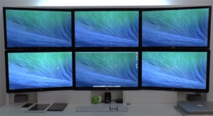 Apple OS X Mavericks vs Mountain Lion, Multiple Monitor Support (video)