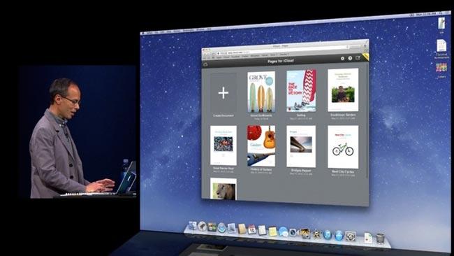 Apple iWork iCloud