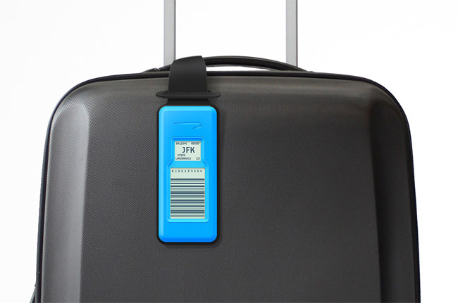 The New British Airways And Designworks Bag Tag Has Been Deigned To Enable Users Use Their Smartphone After They Have Checked Create A Unique Barcode On