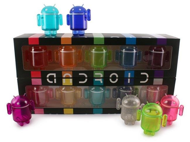 Dead Zebra Android Mini Rainbow Collectibles