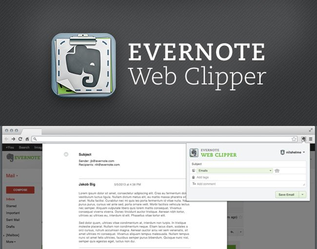 Evernote Gmail