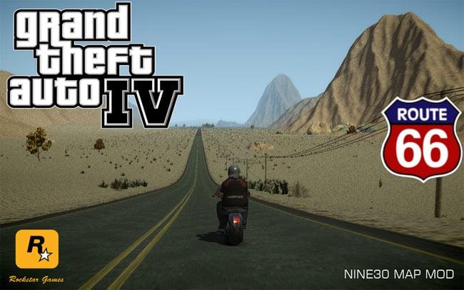 GTA-IV-Mod-Route-66