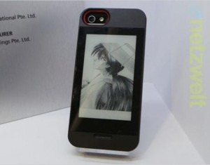Gajah E Ink iPhone 5 Case Unveiled At Computex 2013