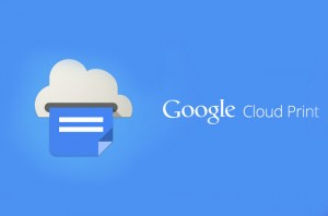 Google Cloud Print App