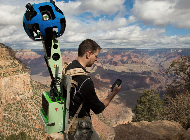 Google Street View Trekker Camera