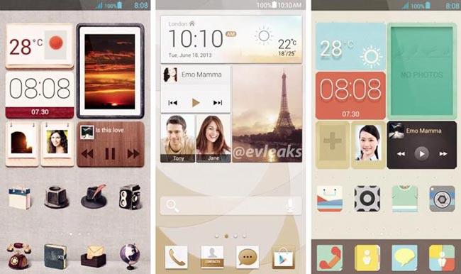 Huawei Ascend P6 UI Leaked