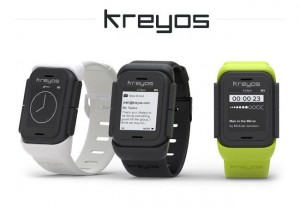 Kreyos Meteor Smartwatch Offers Both Voice & Gesture Control (video)