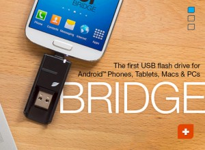 Leef Bridge USB/MicroUSB Drive Enables File Sharing Between Devices (video)