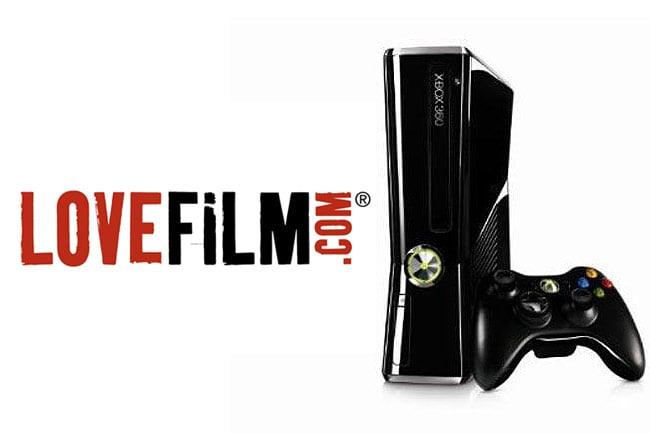 LoveFilm Xbox 360