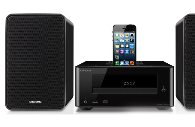 Onkyo CS-255 iPhone 5 Speaker Dock Launches for $300