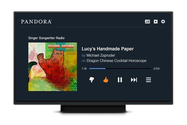 Pandora HTML 5 App