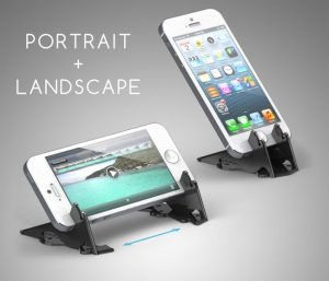 Pocket Tripod Credit Card Sized iPhone Stand Offers A Total Mobile Solution (video)