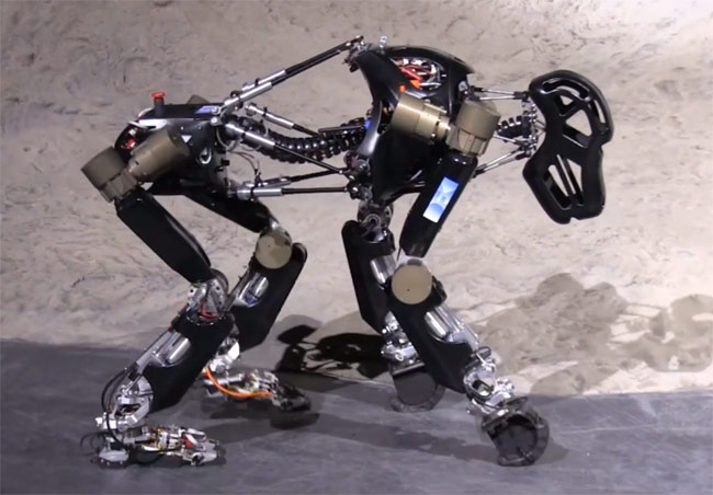 Robot Ape Created By German Researchers At DFKI (video