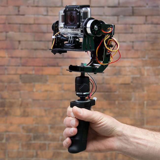 STABiLGO GoPro Camera Motorised Stabiliser