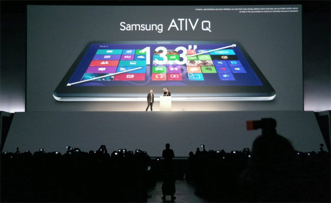 Samsung ATIV Q Hybrid Windows 8 And Android Tablet Unveiled