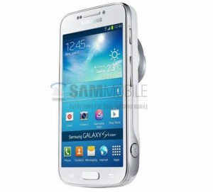 Samsung Galaxy S4 Zoom Press Photo Leaked