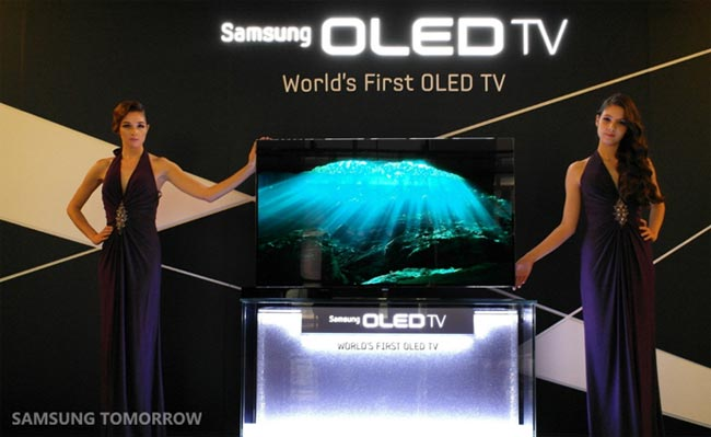 Samsung's 55 Inch OLED TV