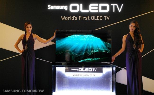 Samsung's 55 Inch OLED TV