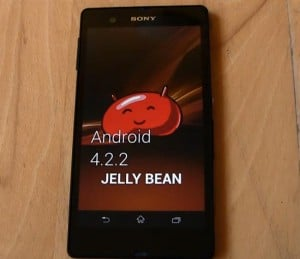 Sony Xperia Z Android 4.2.2 Update Appears On Video