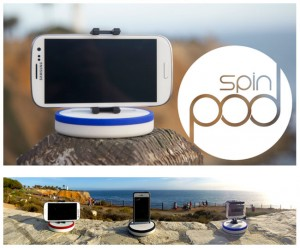 Spinpod Time Motion And Panoramic Stand Hits Kickstarter (video)