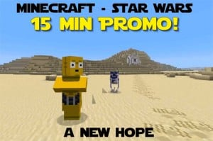 Star Wars Episode IV: A New Hope Movie Recreated In Minecraft (video)