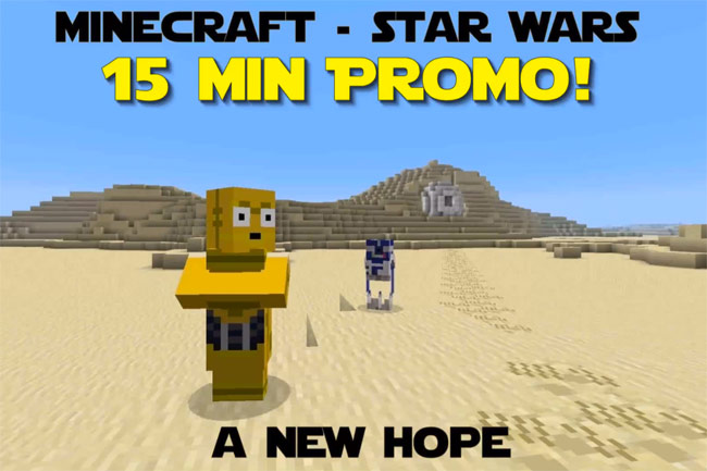 minecraft star wars a new hope