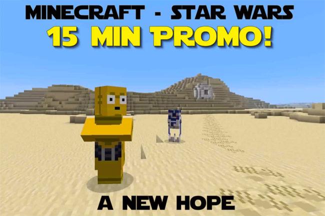 minecraft star wars a new hope