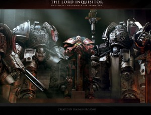 Warhammer 40K : The Lord Inquisitor Trailer Released (video)