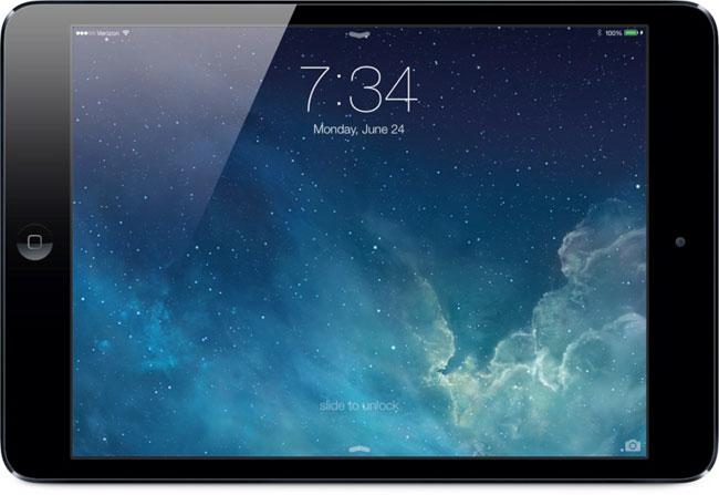Apple iOS 7 In Action On iPad Mini (Video)