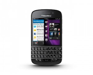 BlackBerry Q10 Lands In The US