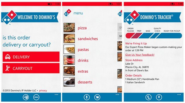 dominos-wp8