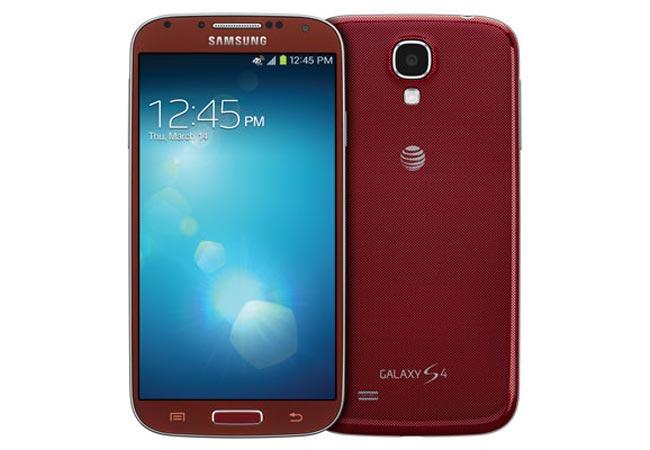 Red Aurora Samsung Galaxy S4