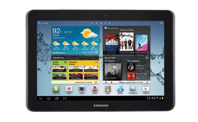 AT&T Samsung Galaxy Tab 2 10.1 Jelly Bean Udpate Released