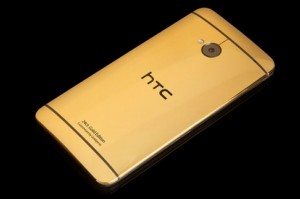 HTC One edition with gold and platinum plating options
