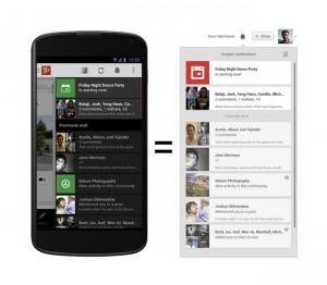 Google+ Update Released