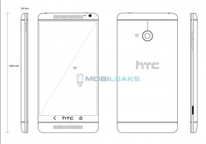 HTC One Max (HTC T6) Blueprints Revealed