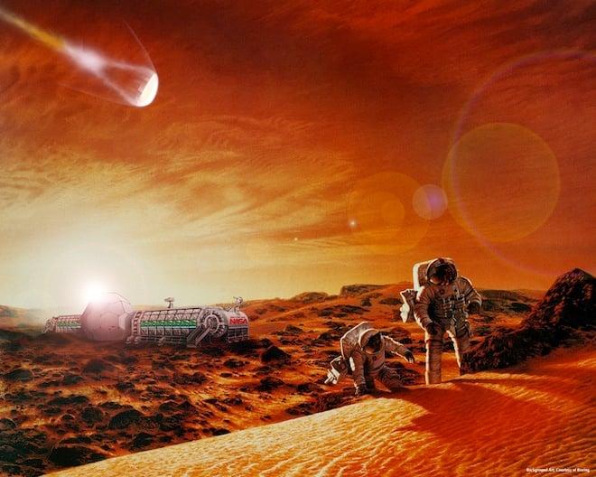 humans on mars